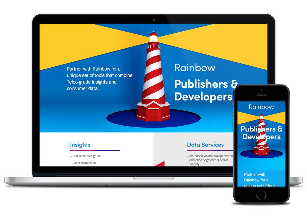 Platform website – Solutions for Publishers