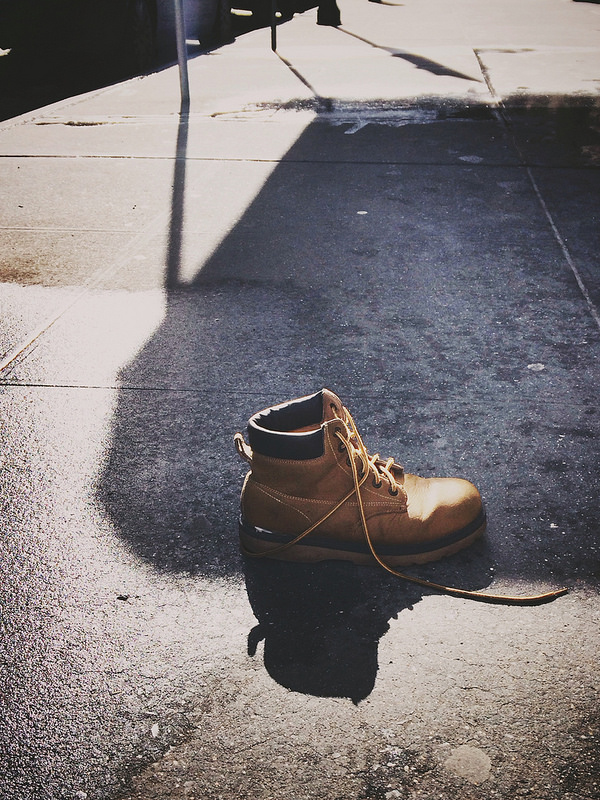 Lone boot