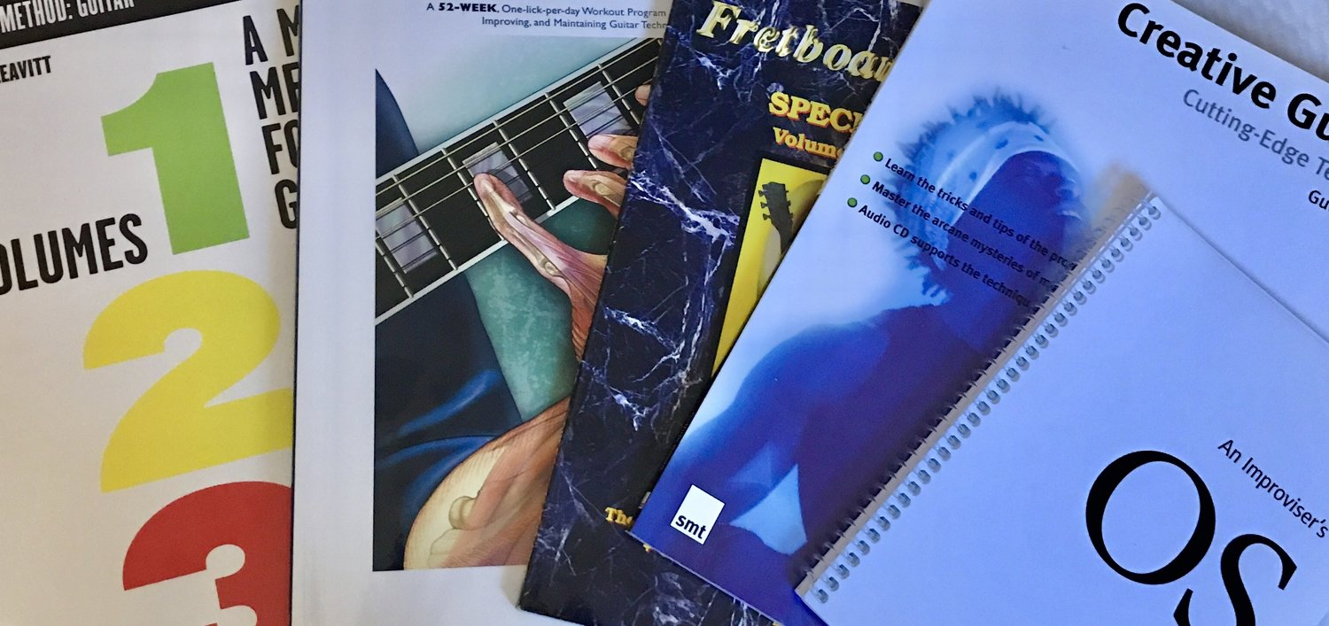 Best guitar books for beginner to advanced players — Chasing