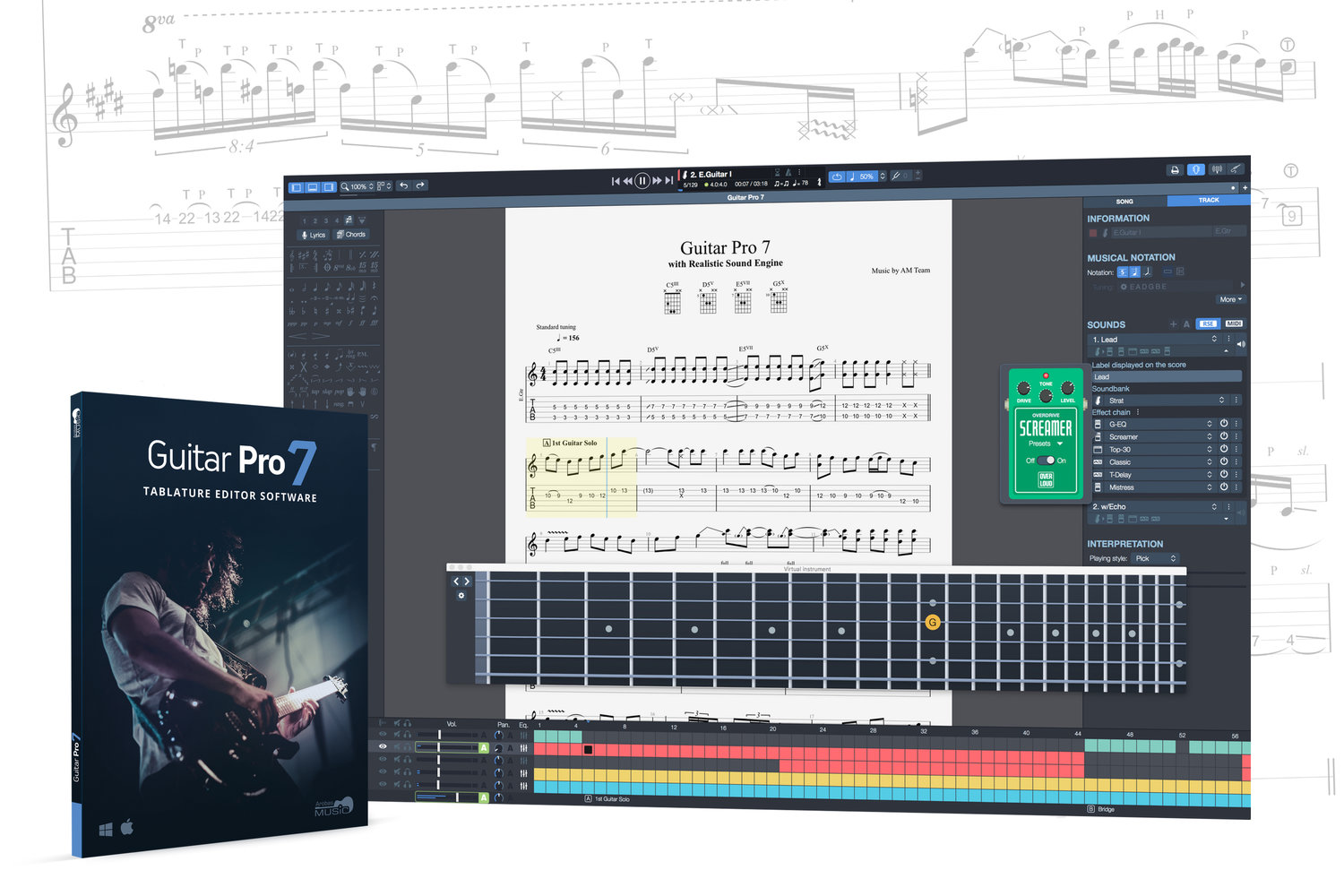 Guitar Pro 7 Review Chasing Sound