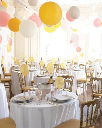 A balloon wedding