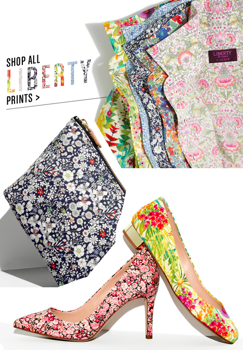 J Crew + Liberty of London