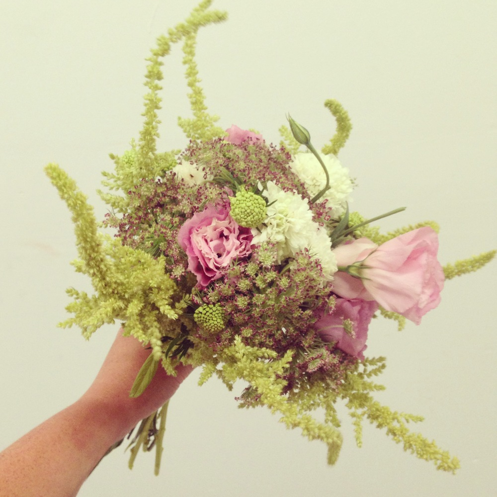 2013-09-05 Green Pink Wedding Bouquet.jpg