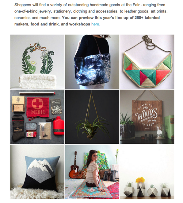 I was featured in the Renegade email (woohoo!)