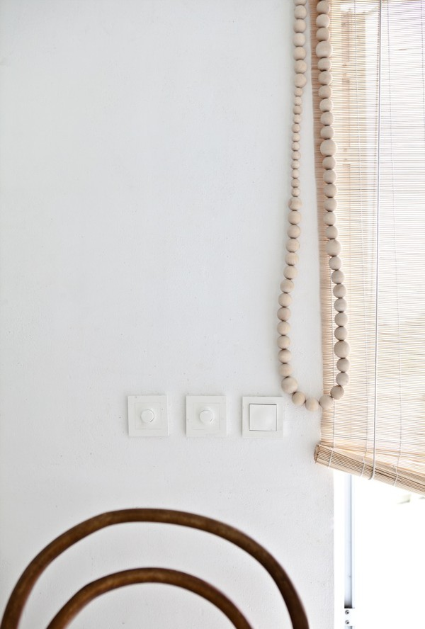Wood Bead Blind Cord