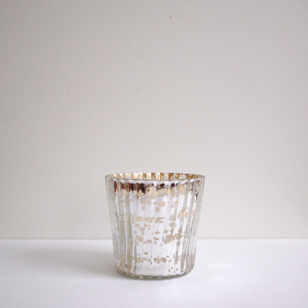 Mercury Glass Tea Lights