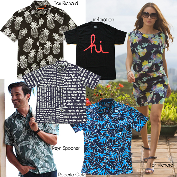 Hawaii Aloha Fashion Hawaii Shirts Dress