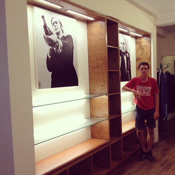 Custom retail display for @duncanquinn Nolita store successfully installed.
