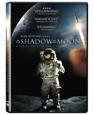In the Shadow of the Moon  is an intimate epic, which vividly communicates the daring and the danger, the pride and the passion, of this extraordinary era in American history. Between 1968 and 1972, the world watched in awe each time an American spacecraft voyaged to the Moon. Now for the first, and very possibly the last, time, IN THE SHADOW OF THE MOON combines archival material from the original NASA film footage, much of it never before seen, with interviews with the surviving astronauts....   Buy from Amazon