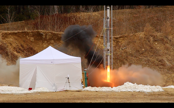 BurpG hopes to change the nature of suborbital research with their hybrid rocket technology. Source: Boston University Propulsion Group