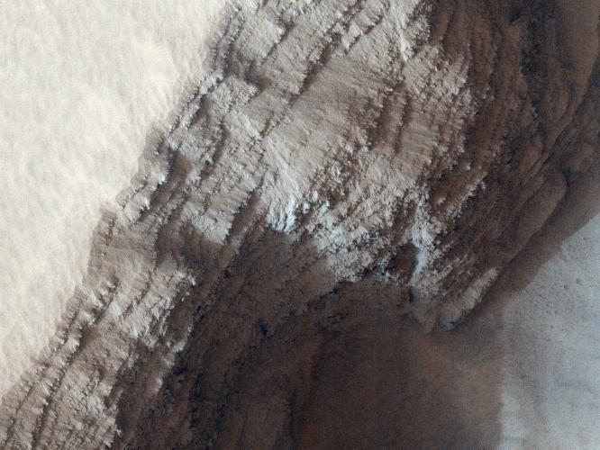 Arsia Mons Detail