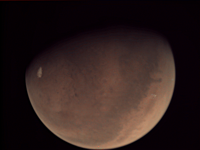 The Mars Webcam is the only camera in orbit around the red planet that can capture the entire surface at once. Credit: ESA - European Space Agency, creativecommons.org/licenses/by-sa/3.0/igo/ CC BY-SA 3.0 IGO