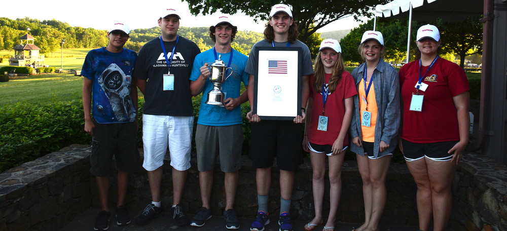 The RCS Engineers Rocketry team will take the 2015 US championships home to Russellville, Alabama, but only for a month. In June they travel to Paris where they will compete against French, British, and Japanese national teams at the Paris Air Show. Credit: Team America Rocketry Challenge
