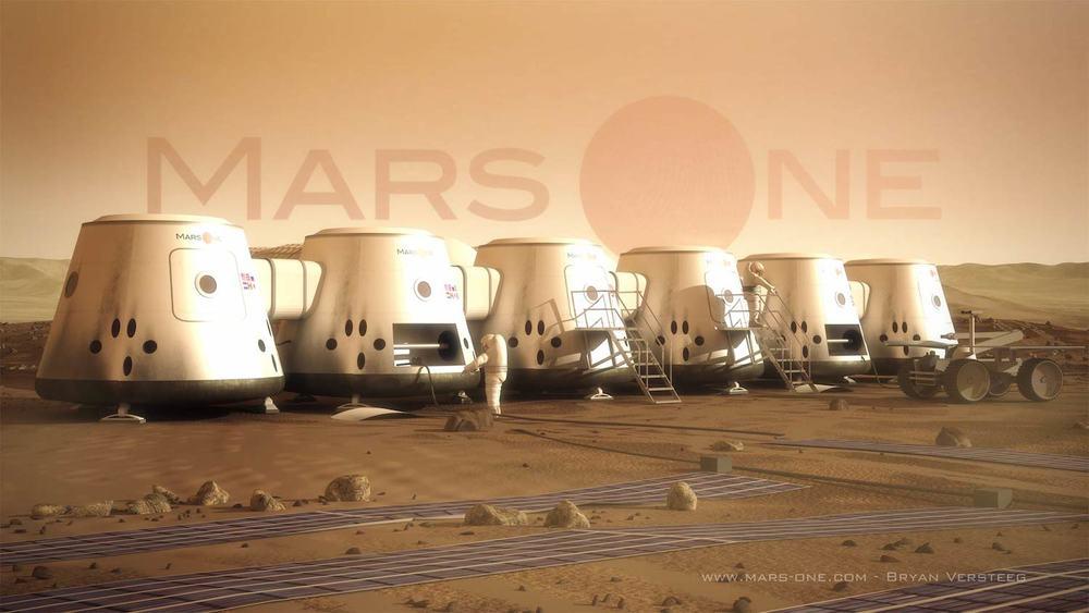 Credit: Bryan Versteeg, Mars One