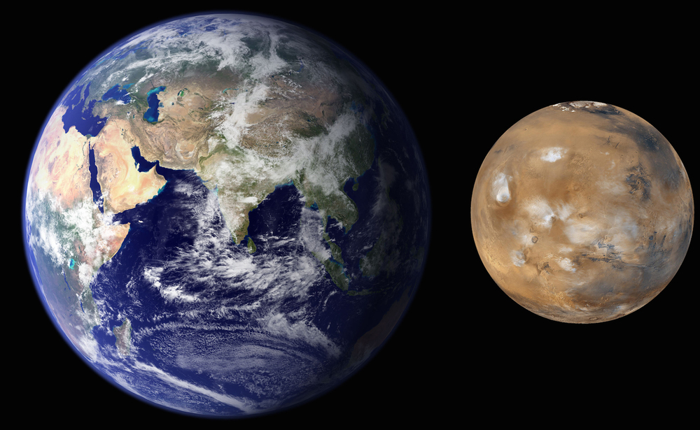 One of these things is not like the other.... maybe because of drag.  Credit: Nasa/JPL-Caltech/MSSS
