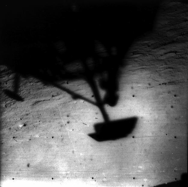 Surveyor 1 landing on the Moon