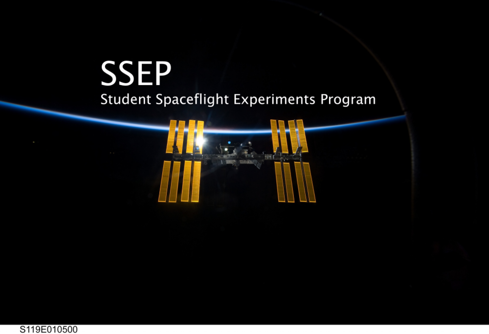 Who wouldn't want to send experiments to the International Space Station? Credit: Student Spaceflight Experiments Program