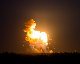 Accidents do happen even for the best rocket scientists in the world. The surprising thing is that disasters are so rare and deaths even rarer.  Credit:  Nasa/Joel Kowsky