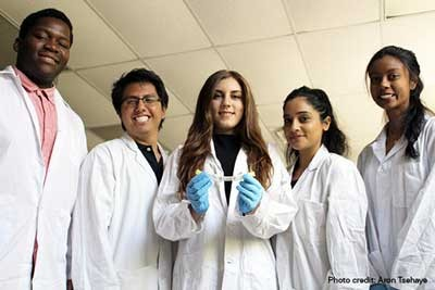 An experiment designed by Canadian students will study the effect of microgravity on the growth of oyster mushrooms. Credit: Aron Tsehaye/Ryerson University