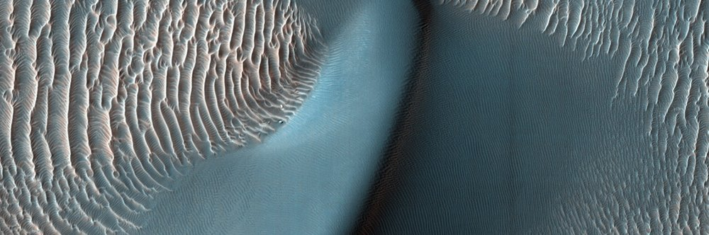 Citizen scientists' help with Planet Four: Ridges could lead to more images like this taken from the Mars Reconnaissance Orbiter's HiRise camera.  Credit: Nasa / JPL-Caltech / University of Arizona
