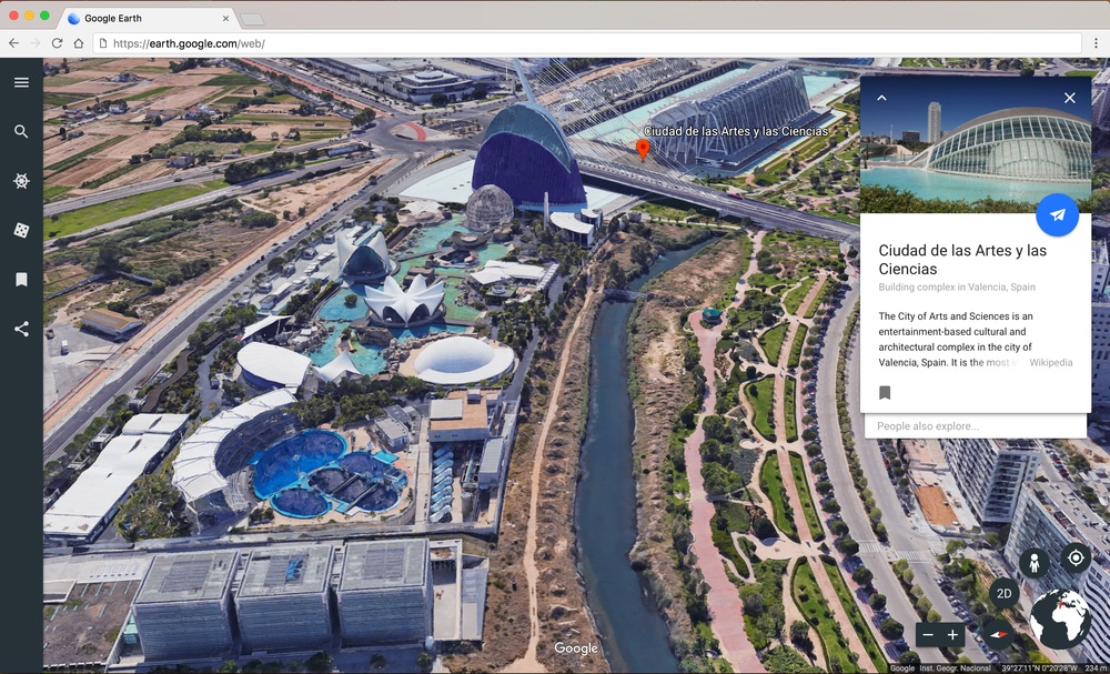 You can explore Earth in more detail than ever before with Google Earth. Credit: Google