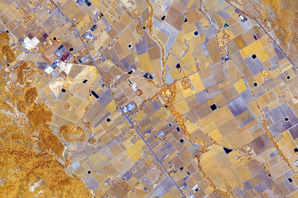 Images of Earth from space can enhance a wide range of humanitarian efforts from analyzing the health of small farms to tracking the displacement of refugees in crisis areas.  Credit: Digital Globe