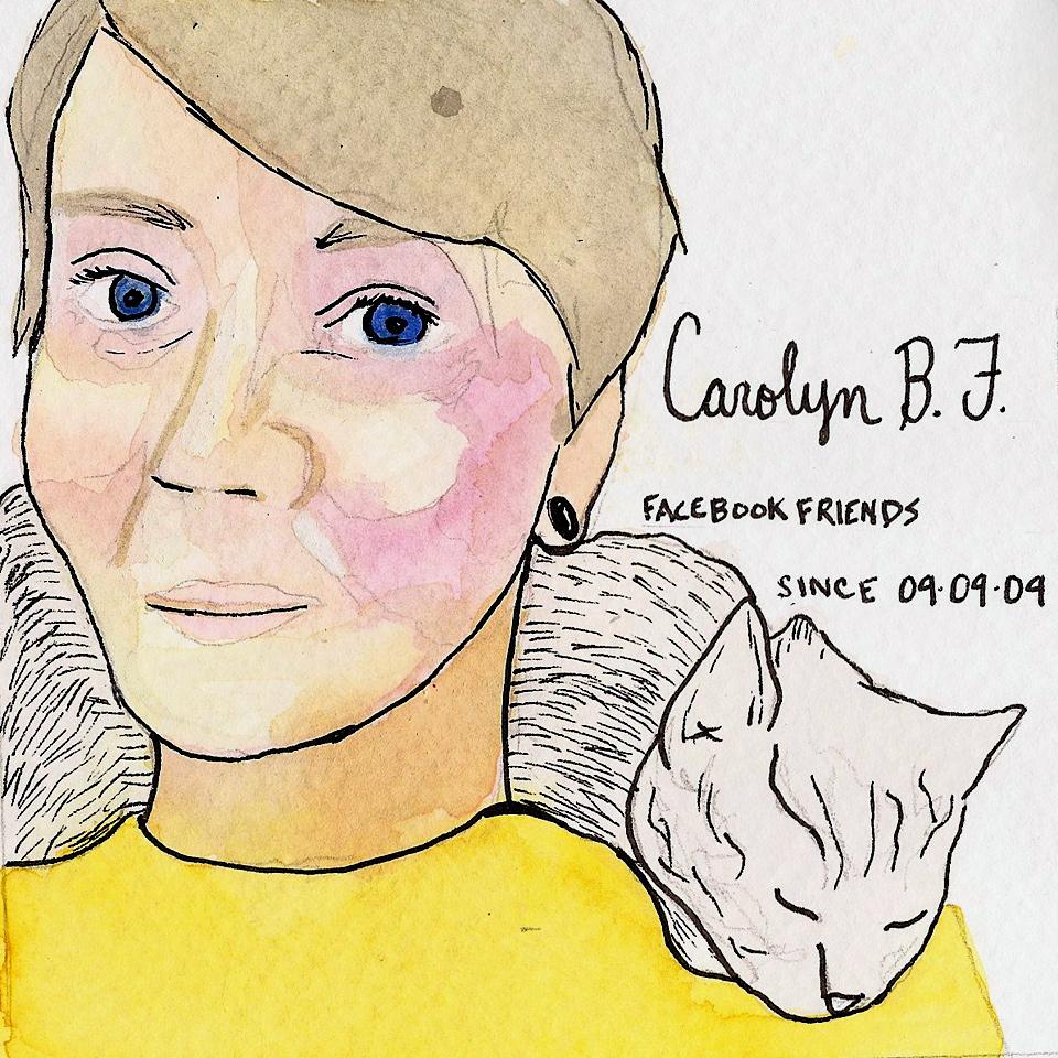 Facebook Memories: Carolyn B. F.