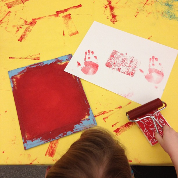 PRINTMAKING PARTY! (at San Francisco Museum of Modern Art)