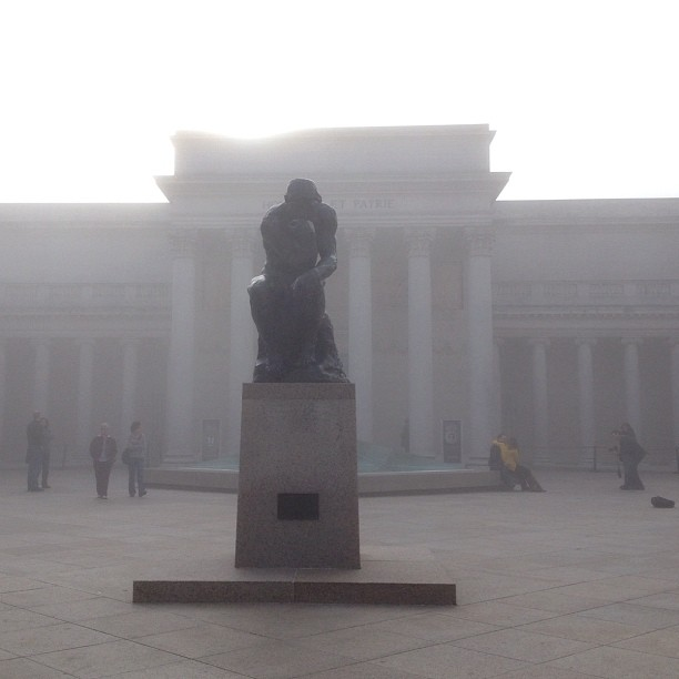Foggy Thinker (at California Palace of the Legion of Honor)