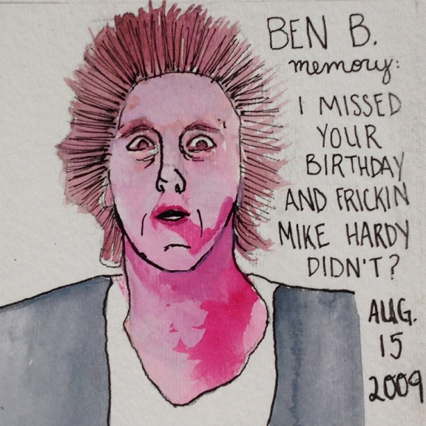Facebook Memories: Ben B. - a Halloween special