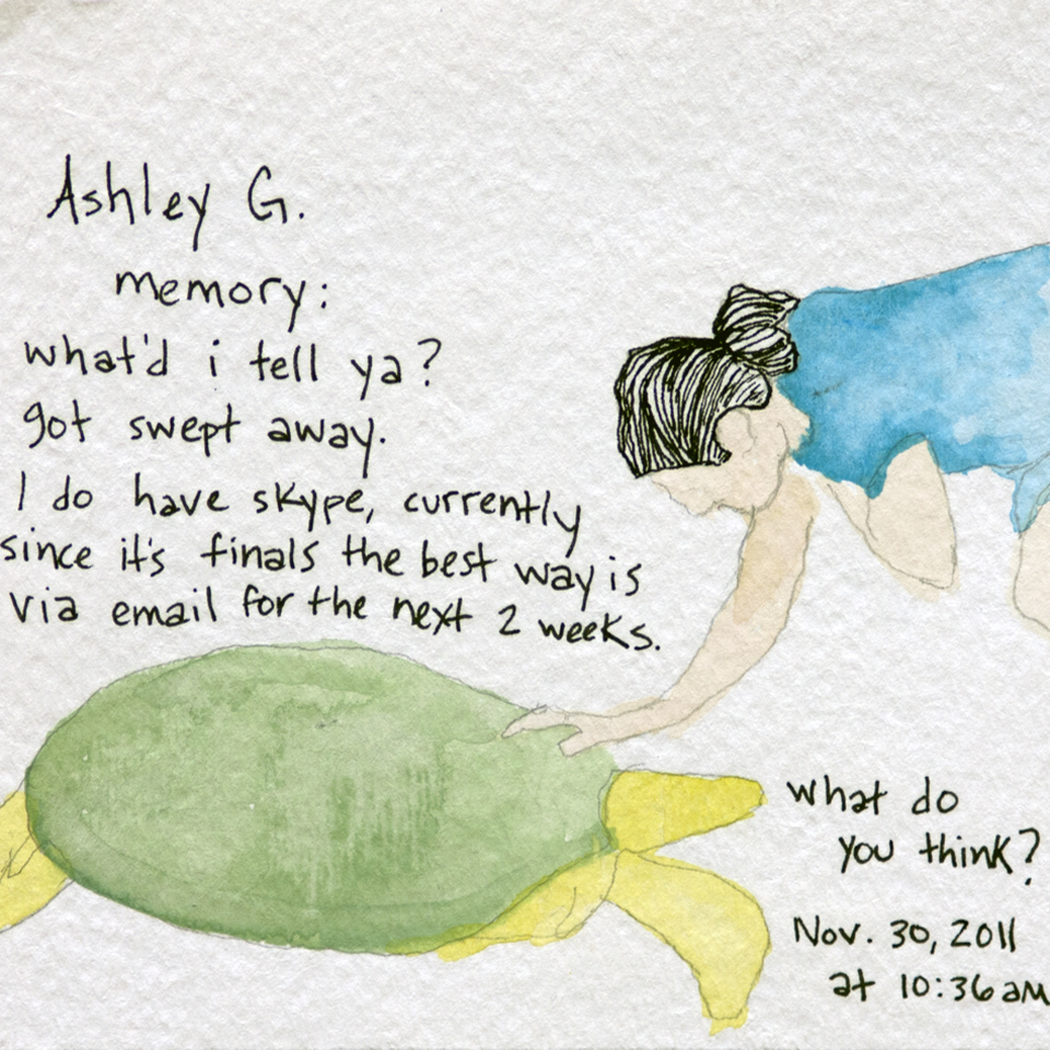 Facebook Memories: Ashley G.
