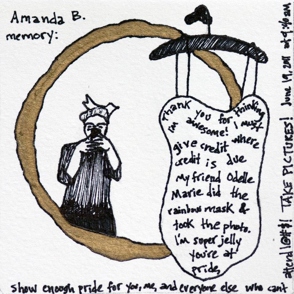 Facebook Memories: Amanda B.