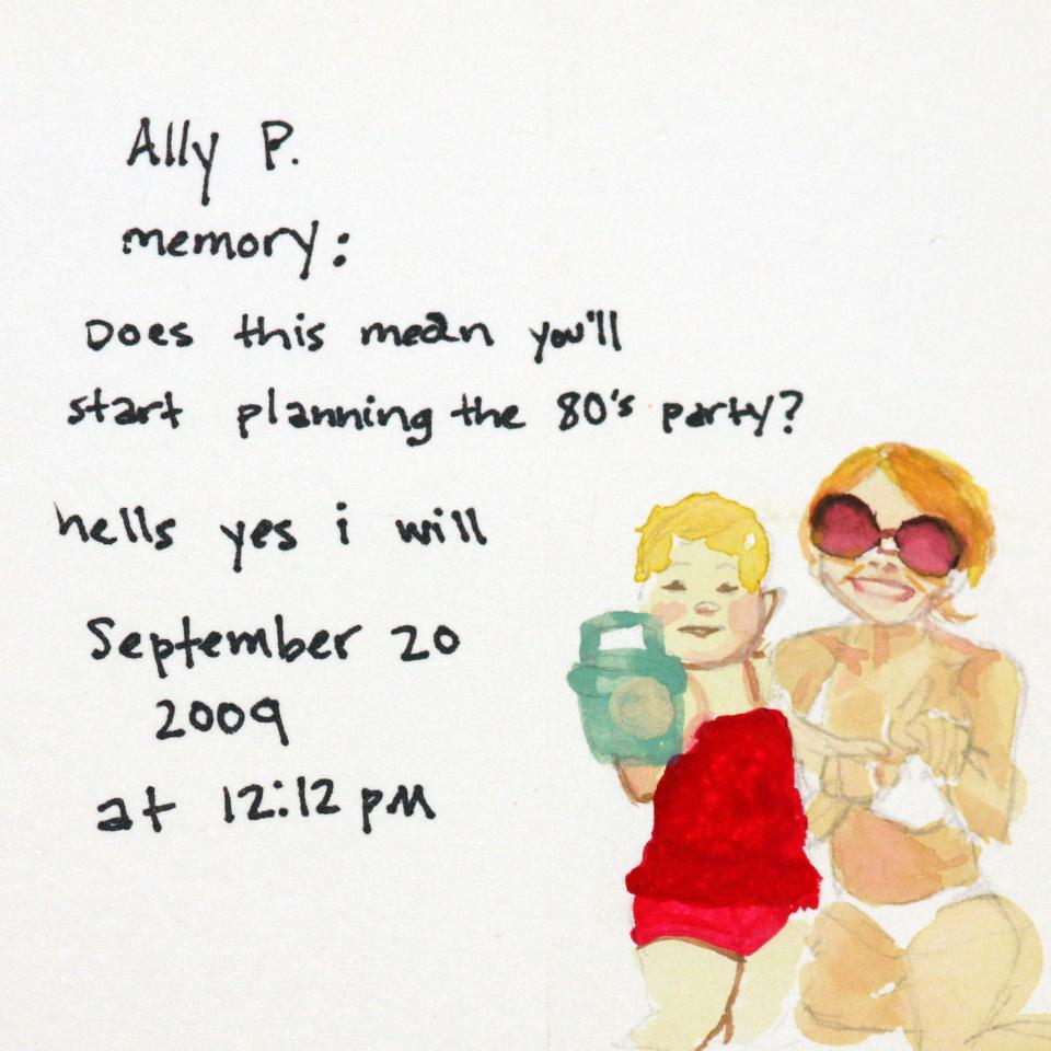 Facebook Memories: Ally P.