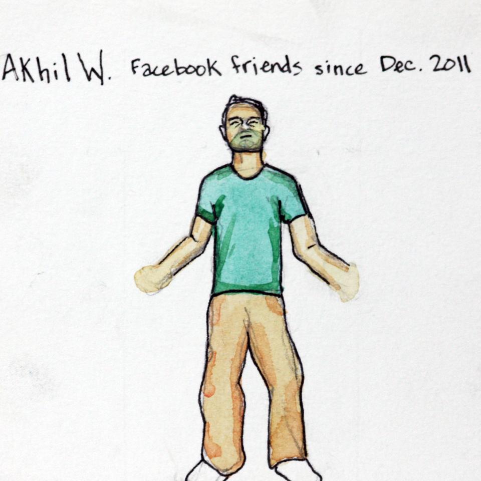 Facebook Memories: Akhil W.