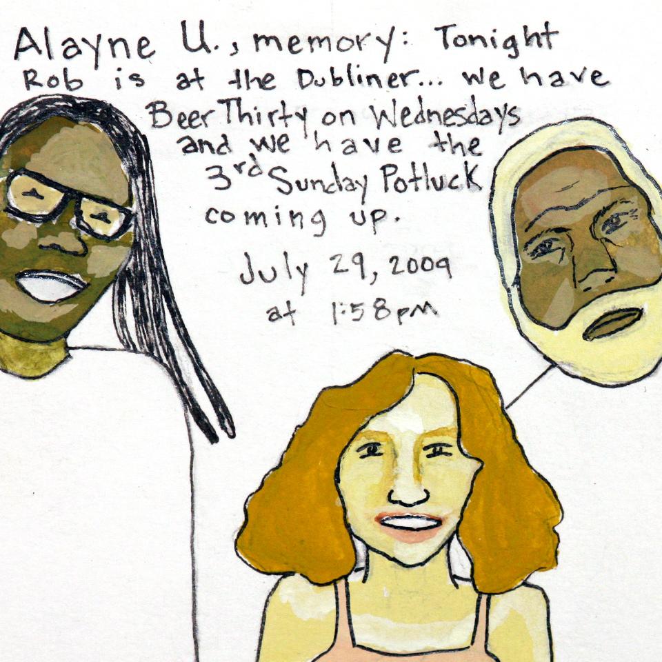 Facebook Memories: Alayne U.