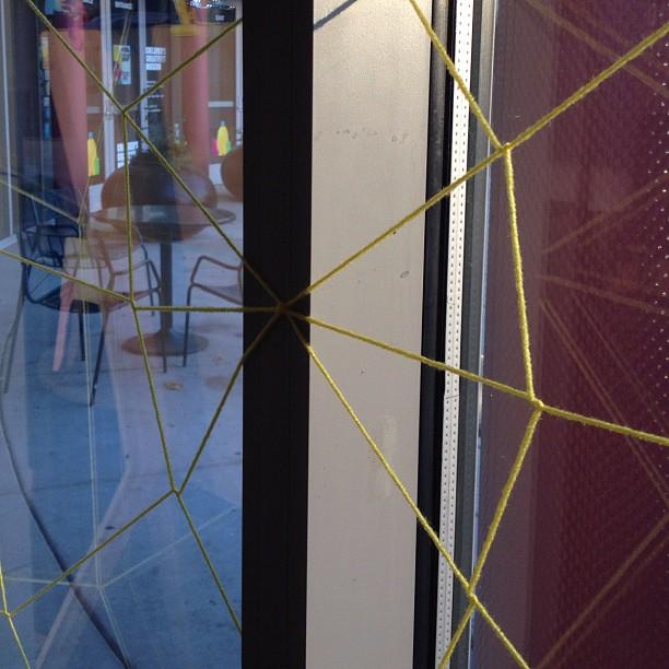 Weaving webs in the @creativitykids #DIY Studio. (Taken with  Instagram  at Children's Creativity Museum)