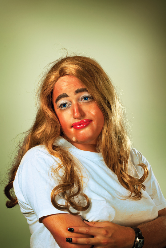 Tastes of Cindy: Drag Artists re-enact Cindy Sherman portraits from SFMOMA show
