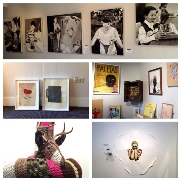 Art all day! #ArtPadSF #ArtMrkt (Taken with  instagram )