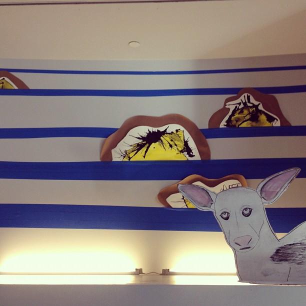 new installation  (Taken with  Instagram  at Children's Creativity Museum)