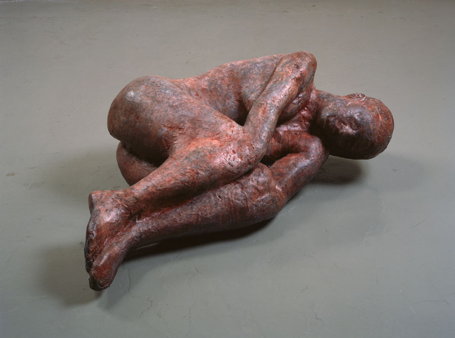 There seems to be a bug that has infiltrated the San Francisco education community. I have been attempting to fight it off for over a week, but now I'm in a place of acceptance. I am sick. Last night, while feeling especially vulnerable and pathetic, I was reminded of this sculpture, Blood Pool, by Kiki Smith.