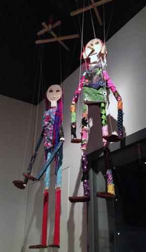 Slöjd Puppets from Nordiska Museet