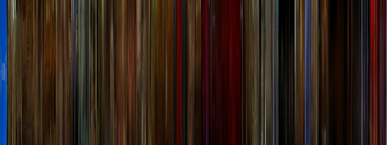 moviebarcode :      Twin Peaks: Fire Walk with Me (1992)   ⇒prints