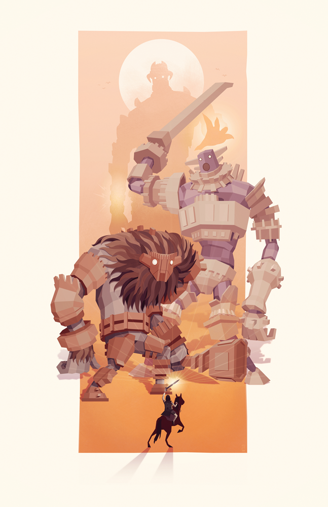 Monsters fight, Shadow of the Colossus
