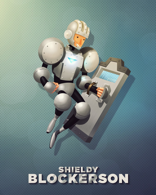 Shieldy Blockerson