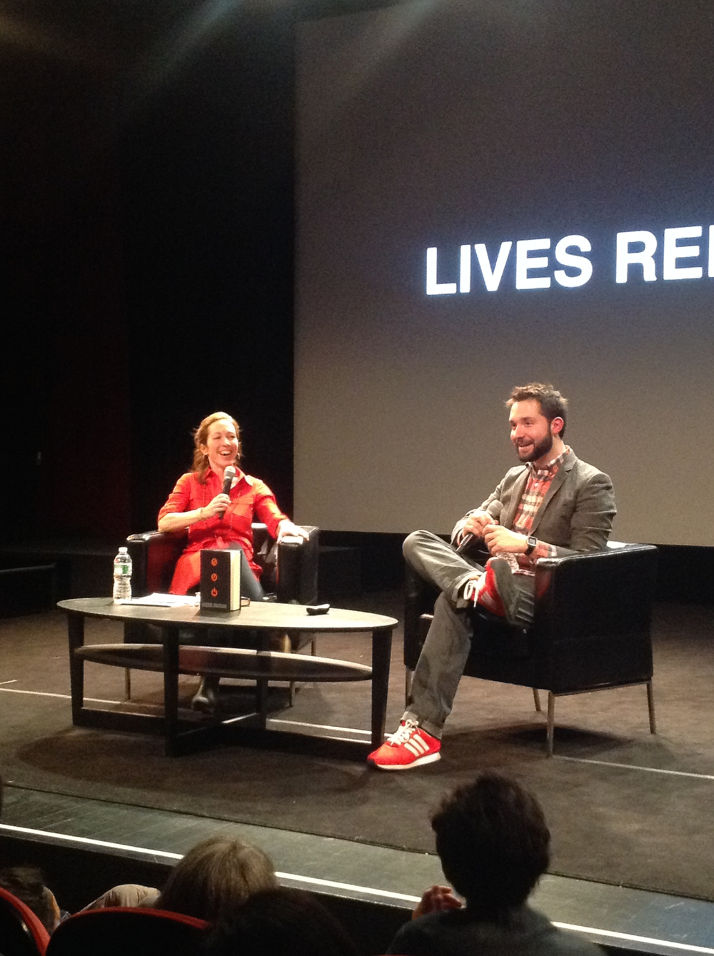 Schuyler Brown and Alexis Ohanian