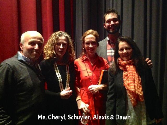 Cheryl, Schuyler, Dawn & Alexis + me