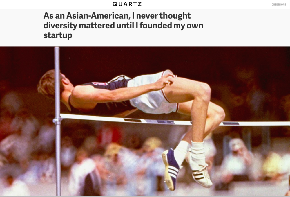 An unlikely athlete entirely changed the sport of the high jump via a simple innovation.   (AP Photo)
