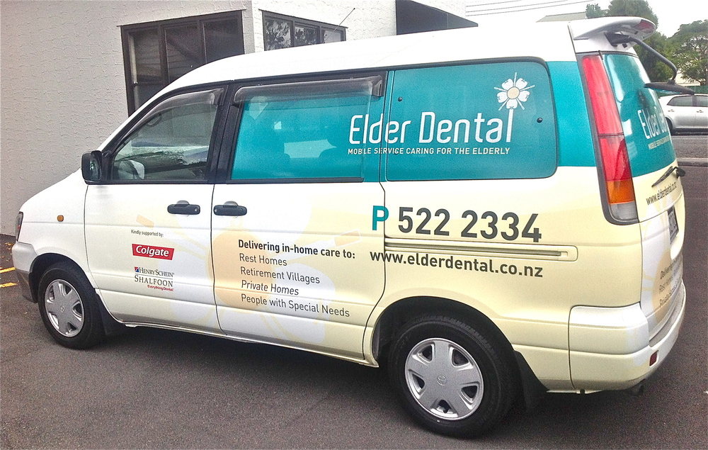 Elder Dental Van at your service