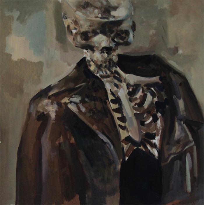 Trenchcoat Skeleton