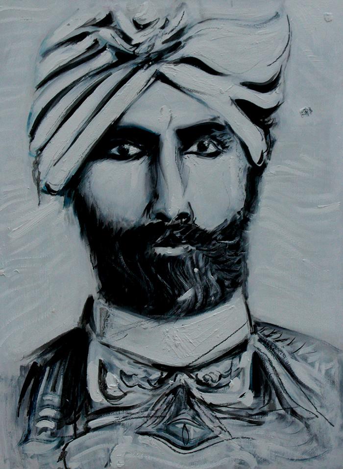 Alex Carletti Visionary Art Hazrat Inayat Khan